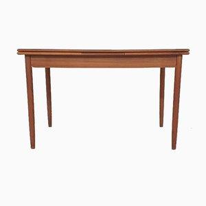 Scandinavian Modern Teak Extendable Dining Table, 1960s