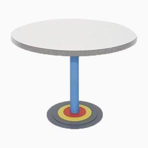 Round Kroma Dining Table by Antonia Astori for Driade, 1983