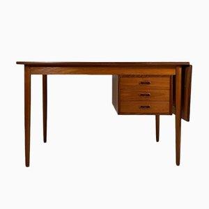 Danish Drop Leaf Desk by Arne Vodder for Sigh & Son, 1960s