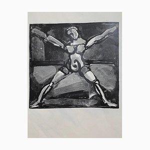 Georges Rouault - Figur - Original Holzschnitt - 1938