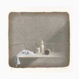 Gianfranco Ferroni - Still Life - Original Lithographie - 2001