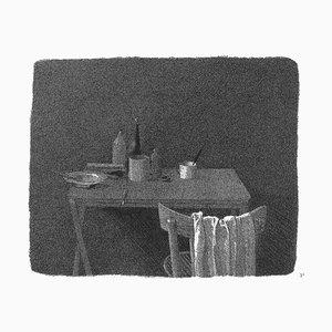 Gianfranco Ferroni - in the Twilight - Original Etching - 1988