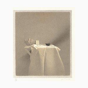 Gianfranco Ferroni - Shadow Diagonal - Original Lithograph - 1991