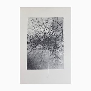 Gianni Saccomandi - Variations in the Ether - Litografia originale - 1974