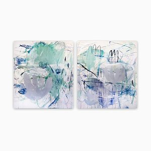Da dove viene il futuro, Pittura espressionista astratta, 2020