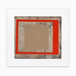 Oak Red Ash, Abstract Print, 2013