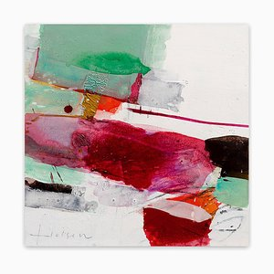 Color Gardening II, Abstract Expressionism Painting, 2014