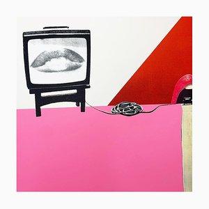 Control, 1976 - Surrealistischer Siebdruck 2021