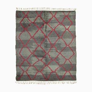 Vintage Grey Moroccan Rug