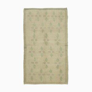 Anatolischer 4x10 Beigefarbener Vintage 10109 Teppich in Beige