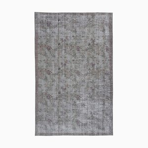 Vintage Grey Overdyed Rug