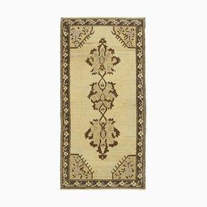 3x6 Beiger anatolischer Vintage Teppich 10104