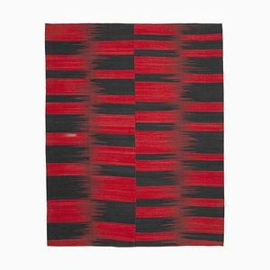 Vintage Red Kilim Rug