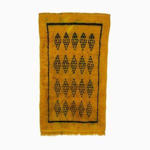 Vintage Yellow Tulu Rug