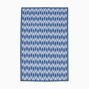 Vintage Blue Dhurrie Rug