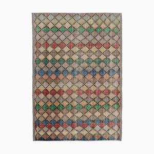 Vintage Multicolor Bohemian Rug