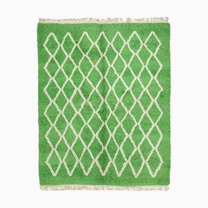 Vintage Moroccan Green Rug