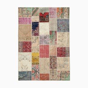 Vintage Multicolor Patchwork Rug