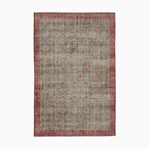 Vintage Red Bohemian Rug