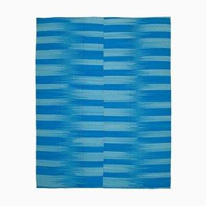 Vintage Blue Kilim Rug