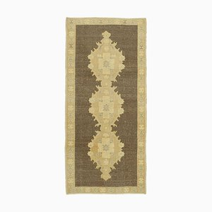 3x6 Beiger anatolischer Vintage Teppich 10094