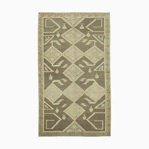 Antiker anatolischer 5x8 Teppich in Gelb 10033