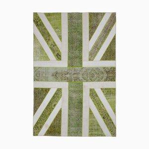 UK Flag Patchwork Rug