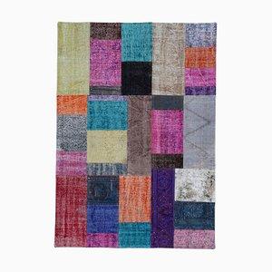 Multicolor Patchwork Rug