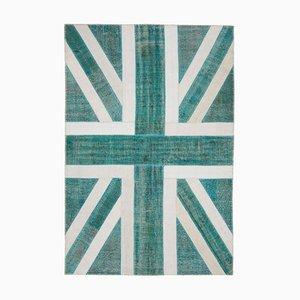British Flag Patchwork Rug