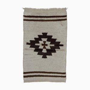 Beige Vintage Tulu Rug