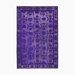 Purple Overdyed Rug