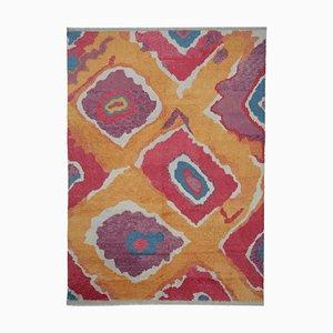 Mehrfarbiger Teppich aus Marokko