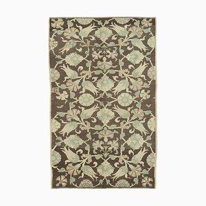 Antiker anatolischer 5x7 Teppich in Gelb 10048