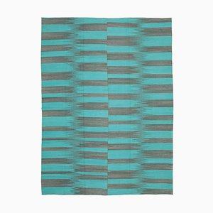 Turquoise Kilim Rug