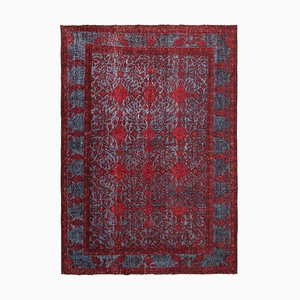Red Over Dyed Rug