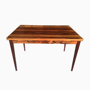 Red Wood Dining Table, 1960s