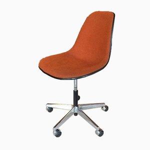 Sedia da scrivania PSC in fibra di vetro di Charles & Ray Eames per Vitra, anni '60