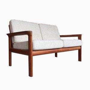 Dänisches Teak Sofa von Sven Ellekaer für Comfort, Denmark, 1960er