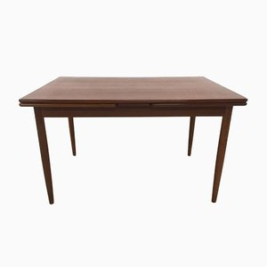 Teak and Dark Walnut Dining Table, 1960s