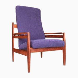 Danish Teak Lounge Chair, 1950s
