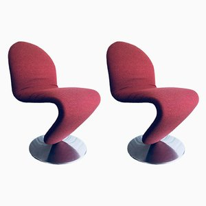 1-2-3 System Chairs from Fritz Hansen, Denmark, Set of 2