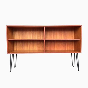 German Teak Shelf, 1950s