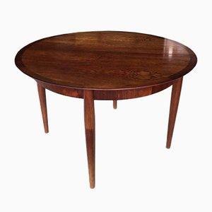 Tavolo rotondo di Ernst Martin Dettinger per Lübke, Germania, anni '60