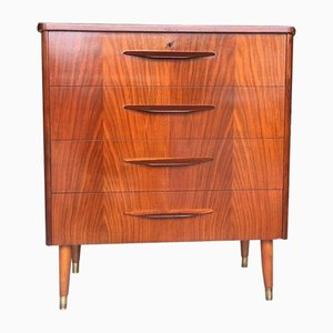 Swedish Walnut Dresser, 1960s