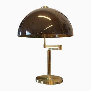 Brass Mushroom Table Lamp, 1970s