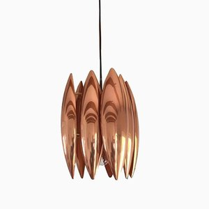 Copper Kastor Pendant from Fog & Mørup, 1960s