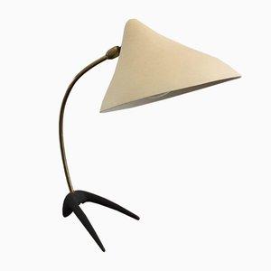 Danish Teak Crow Foot Table Lamp in the style of Louis Kalff