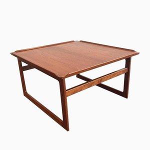 Danish Teak Kubus Coffee Table by Jalk Vodder Andersen for Dyrlund, 1950s