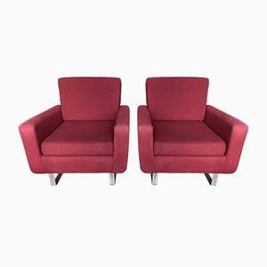 Teak Sessel von Florence Knoll, 1960er, 2er Set