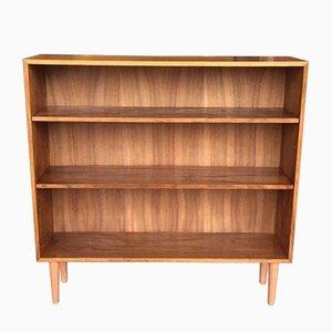 Mid-Century Rosewood & Walnut Bookcase